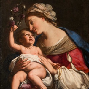 Elisabetta Sirani – Virgin and Child