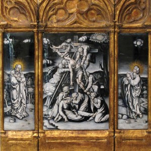 Maison Samson – Deposition from the Cross and Mourners