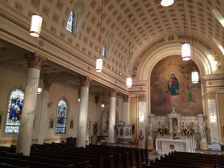 Honoring Mary: Scholarship, Art, & Faith – Holy Rosary Church