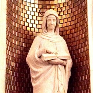 St. Ann Statue on Our Lady's Chapel