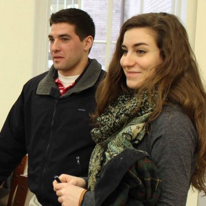 Rachel and Charles at CUA