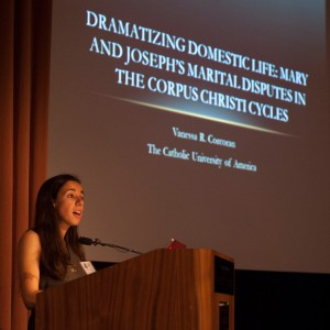 Vanessa Corcoran, Conference Coordinator, speaks about Mary in the English dramatic tradition