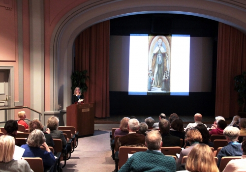 "Dr. Robin Darling Young lecture ""She guarded all these words in her heart': Mary's Knowledge According to the Early Syrian Tradition, from Ephrem to Romanos"""