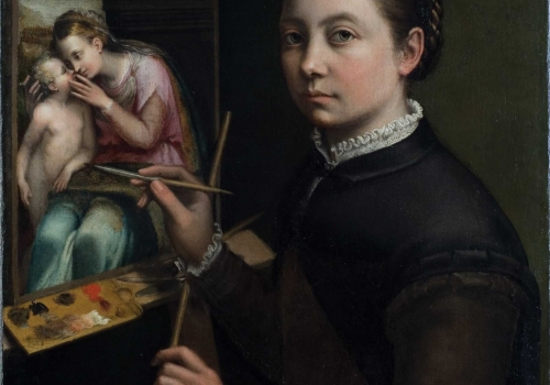 Sofonisba Anguissola – Self-Portrait at the Easel
