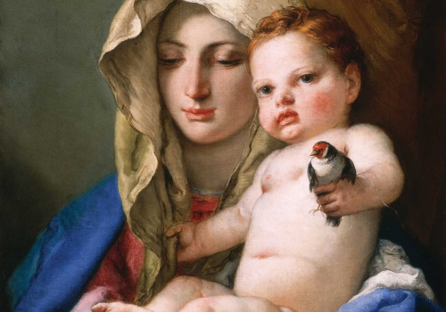 Giovanni Battista Tiepolo – Madonna of the Goldfinch
